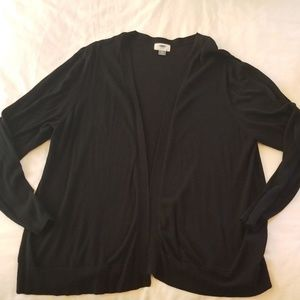 Old Navy black cardigan